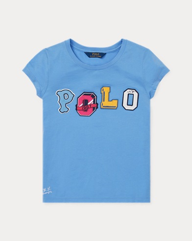 Polo Jersey Graphic Tee