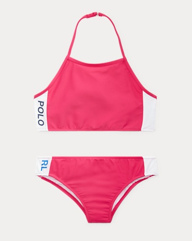 Solid Two-Piece Swimsuit