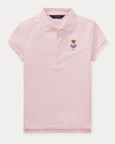 Cricket Bear Mesh Polo Shirt