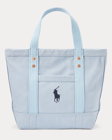 Canvas Big Pony Mini Tote