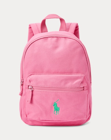 Big Pony Canvas Backpack
