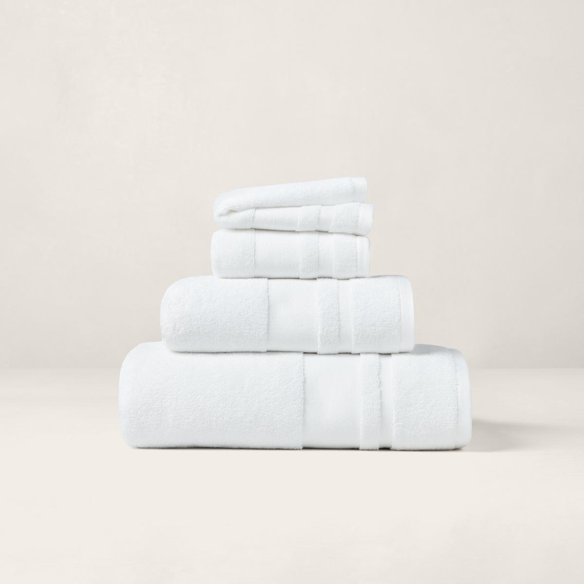 Ralph Lauren Greek Isles Beach Towel: Serviettes Et Tapis Wilton En Coton