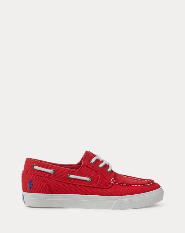 Bridgeport Twill Boat Shoe
