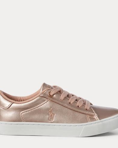 Easten Faux-Leather Sneaker