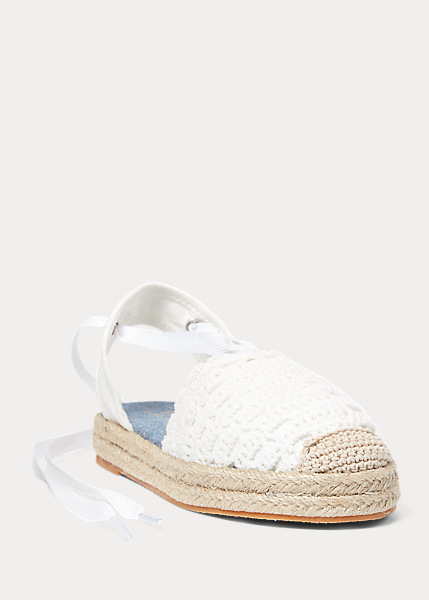 Child Briele Crochet Espadrille 2