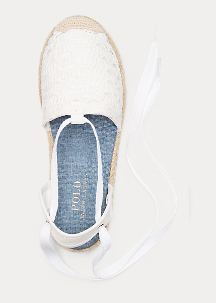 Child Briele Crochet Espadrille 3