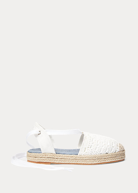 Child Briele Crochet Espadrille 1