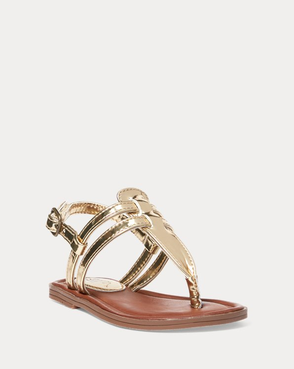 Tierney Metallic Sandal