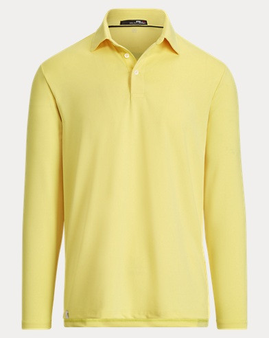 Active Fit Long-Sleeve Polo