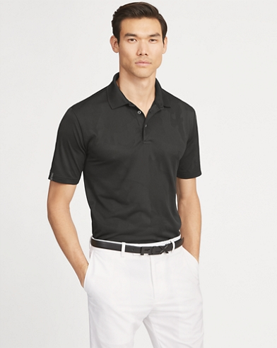 Active Fit Jacquard Polo