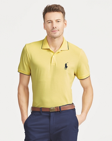 Polo deportivo Custom Slim Fit