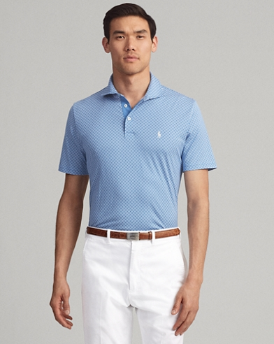 860c6ecaf613 Active Fit Print Jersey Polo