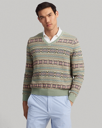 Fair Isle Golf Sweater