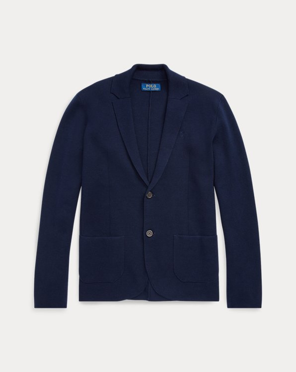 Notch Lapel Cotton Cardigan