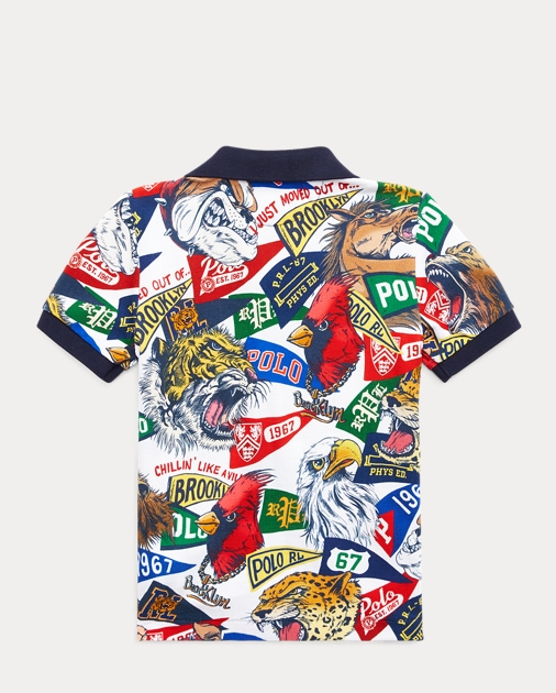 b47aa44da Boys 2-7 Cotton Mesh Graphic Polo Shirt 2