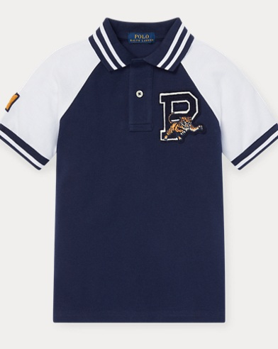 Piqué Graphic Polo Shirt