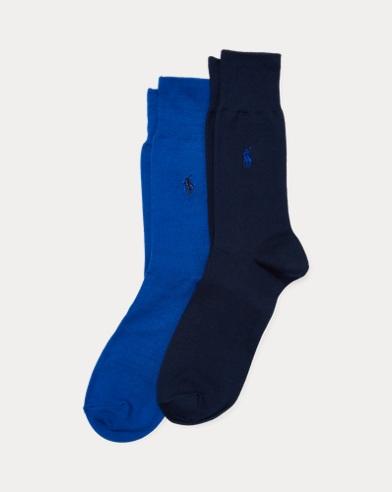 2paires de chaussettes en coton stretch