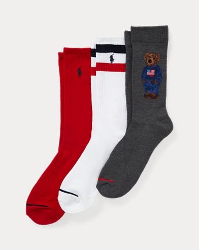 Lot 3paires chaussettes de sport