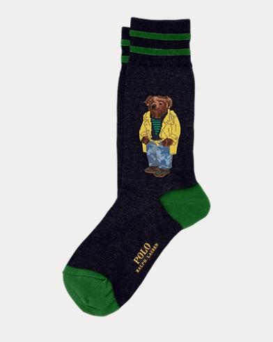 Polo Bear Trouser Socks