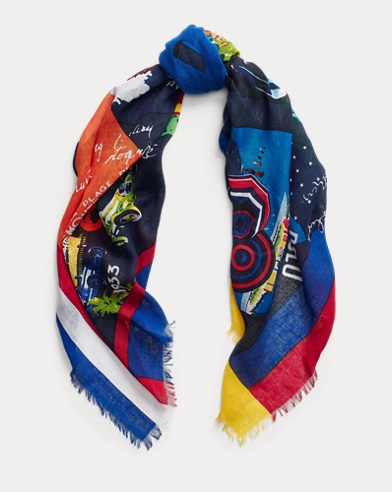 Poster Square Scarf