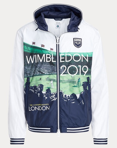 Wimbledon Graphic Windbreaker