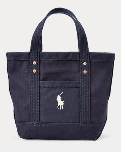 Canvas Big Pony Small Tote