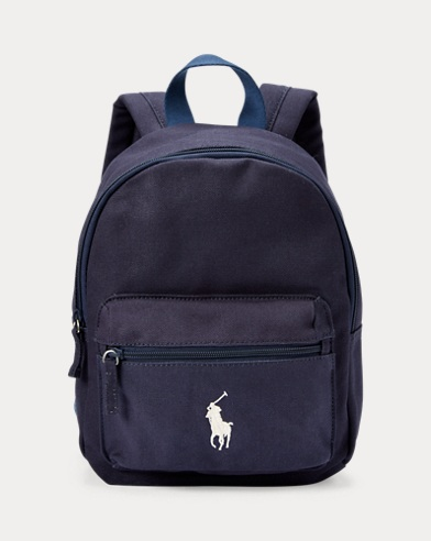 Canvas Big Pony Small Backpack
