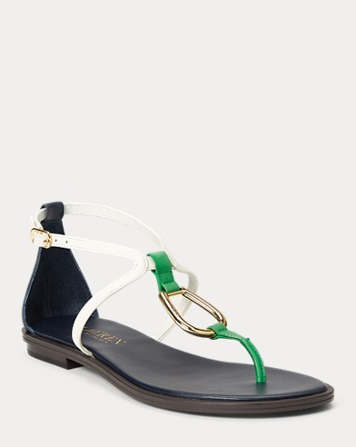 Nanine Leather Sandal