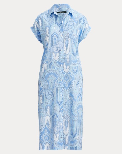 Paisley Long Nightshirt