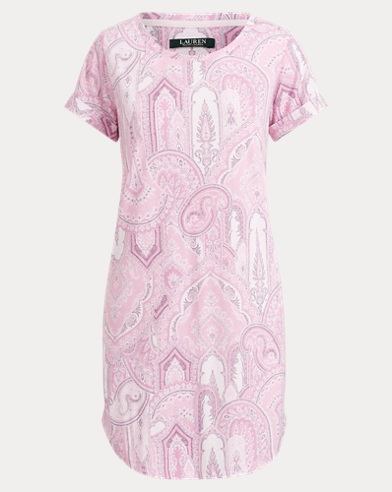 Paisley Sleep Tee
