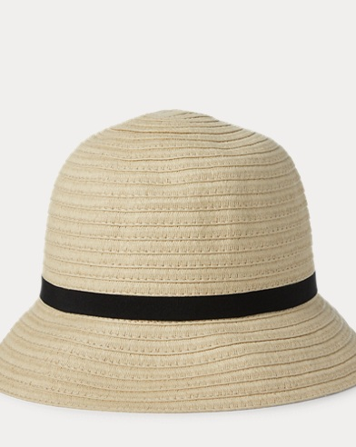 0d8fab09f9507 Straw Bucket Hat