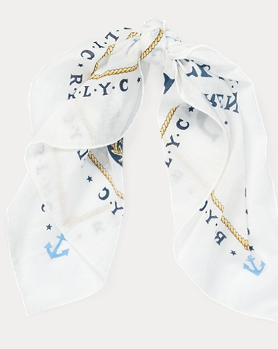 RL Yacht Club Cotton Bandanna