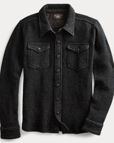 Indigo Workshirt Sweater