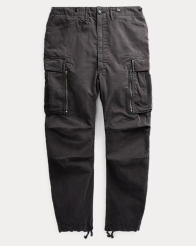 Cotton-Blend Cargo Pant
