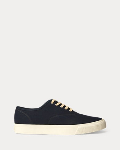 Norfolk Indigo Canvas Sneaker