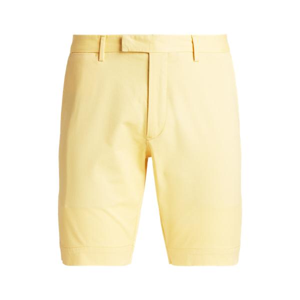 Ralph Lauren 9-inch Stretch Slim Fit Chino Short In Yellow