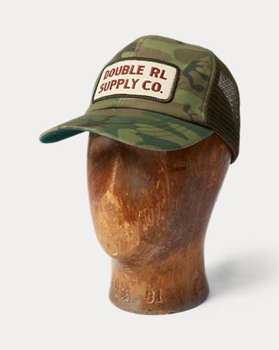 Camo Mesh-Back Trucker Cap