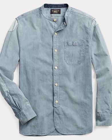 Striped Cotton-Linen Shirt