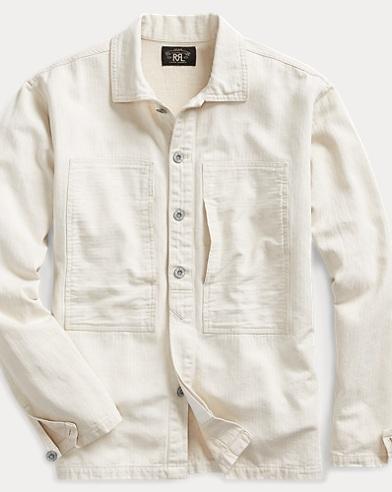 Herringbone Overshirt