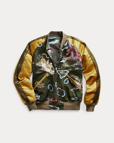 Reversible Satin Tour Jacket
