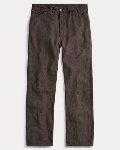Cotton-Linen Twill Pant
