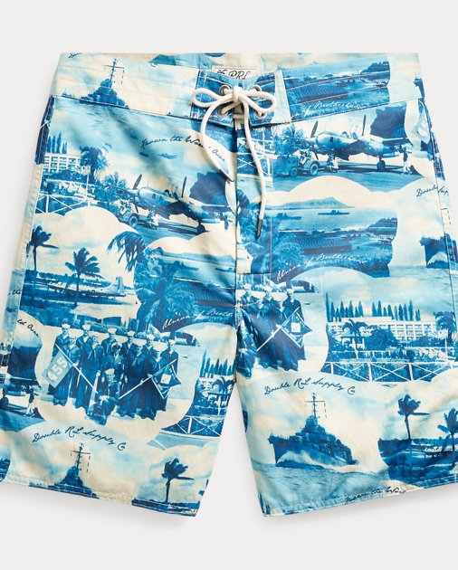0f2f23556c Cotton-Blend Graphic Short
