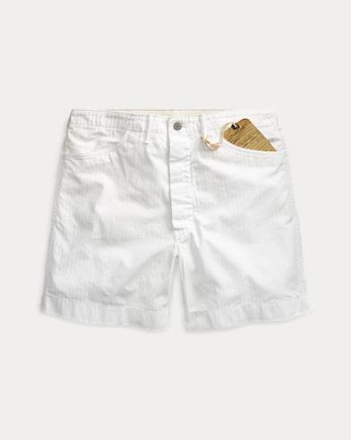 Cotton Herringbone Field Short