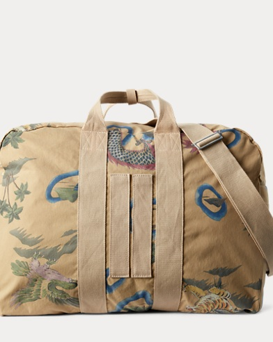Cotton-Blend Duffel Bag