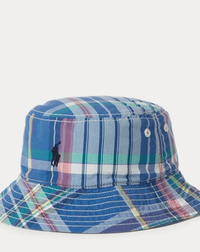 Reversible Bucket Hat. Baby Boy