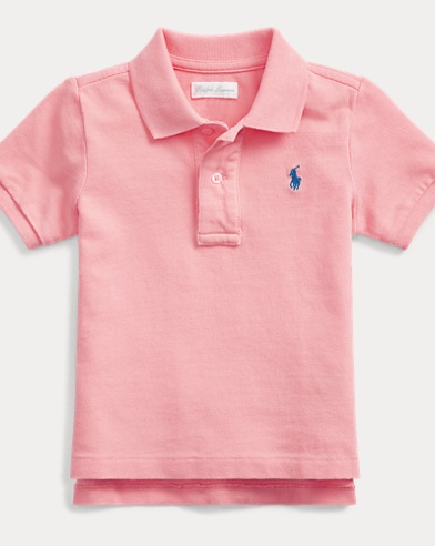 09596ad81 Baby Boys' Polos: Short and Long Sleeved Polo Shirts | Ralph Lauren