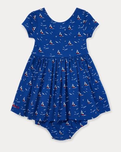 Sailboat Dress & Bloomer