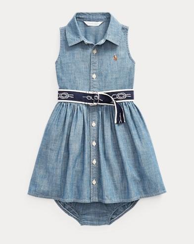Belted Dress & Bloomer