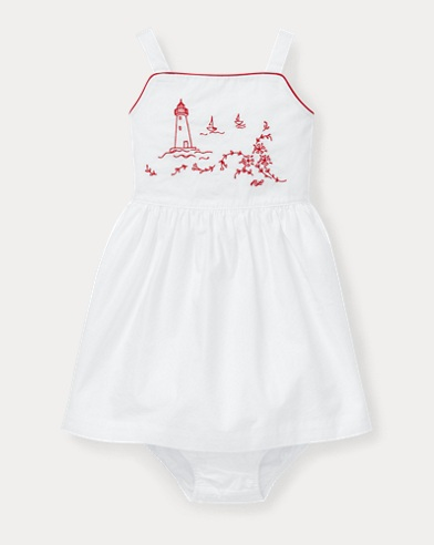 9ebc5fd414782 Newborn Baby Girl Clothing & Accessories | Ralph Lauren