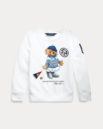 Marseilles Bear Terry Pullover
